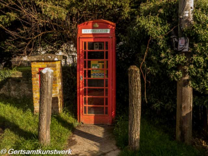 Re-purposed telephone box