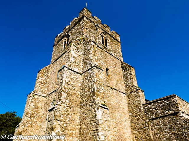 St George's tower of Kentish ragstone