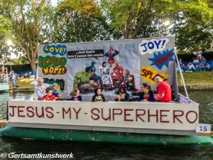 Jesus my superhero