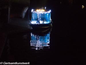 Float lit up