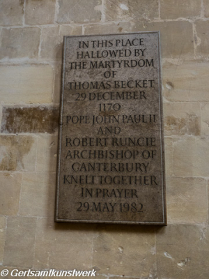 Papal plaque