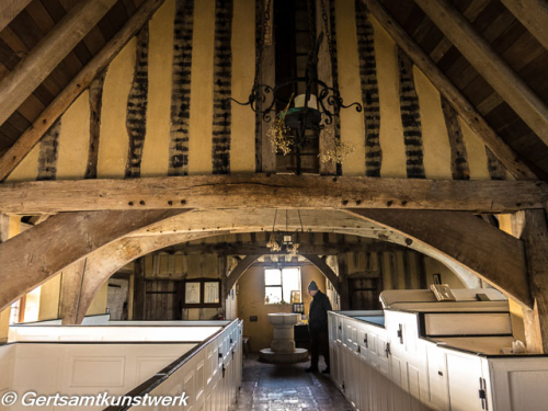 Church beams