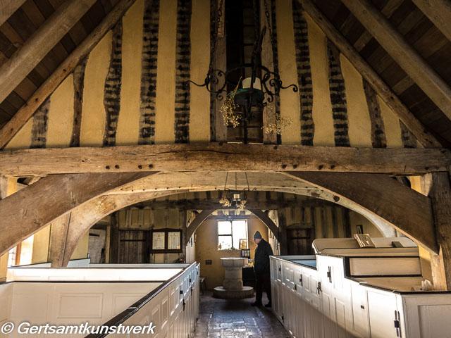 Church beams