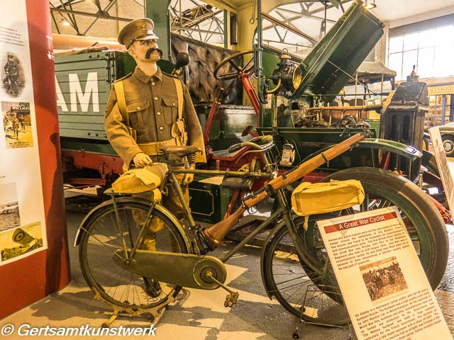 A Great War Cyclist
