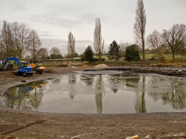 Refurbing the pond