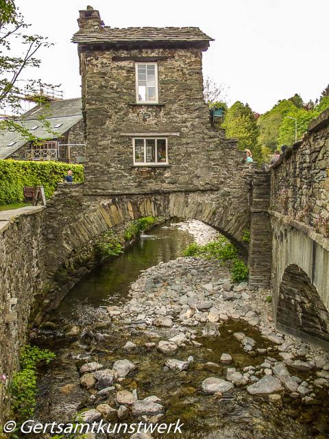 House on bridge