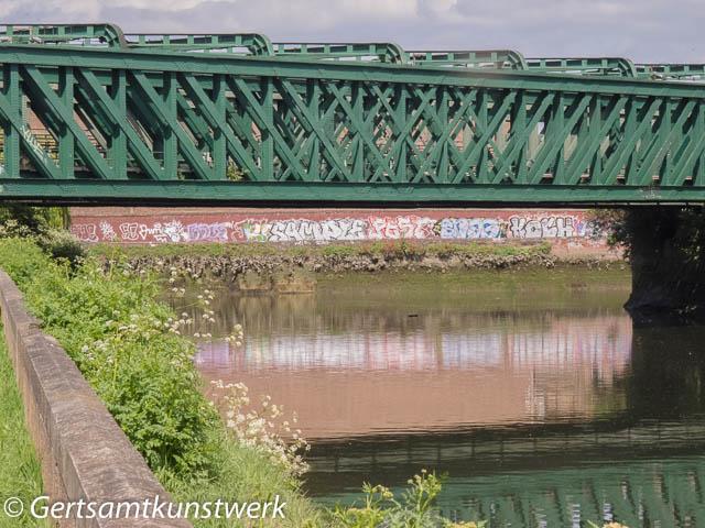 Bridge and graffiti