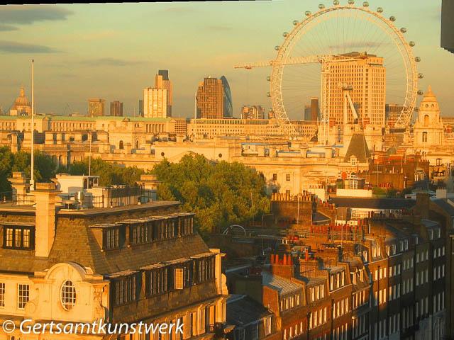 Whitehall Sunset