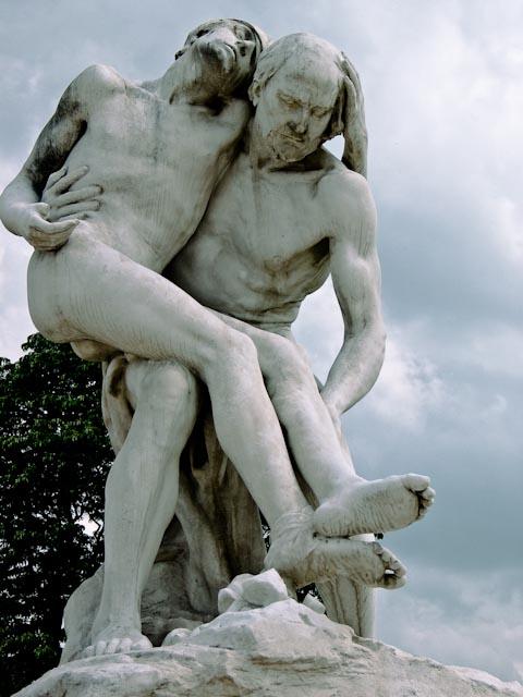 Tuileries statue