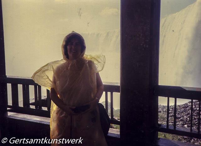 Me inside Niagara Falls 1989