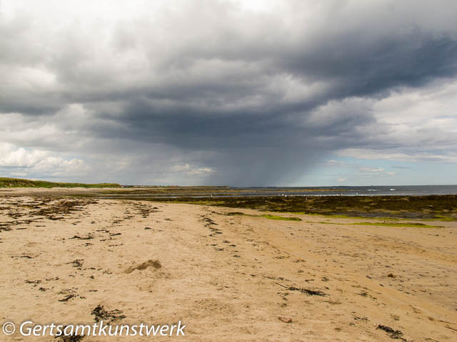 Black cloud over Beadnell