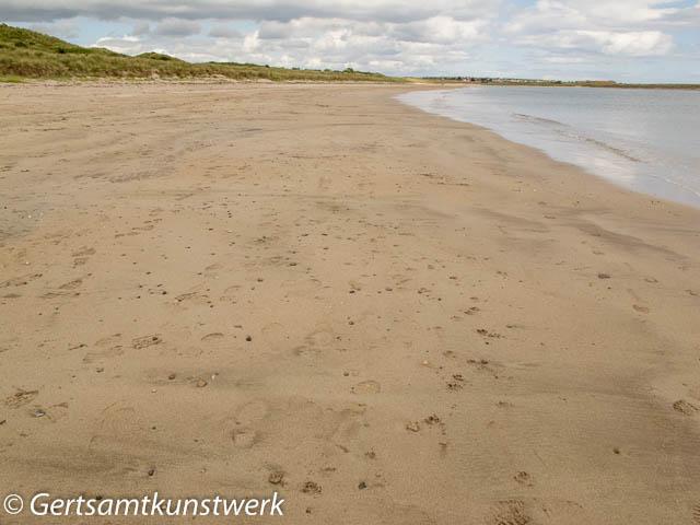 Seahouses beach
