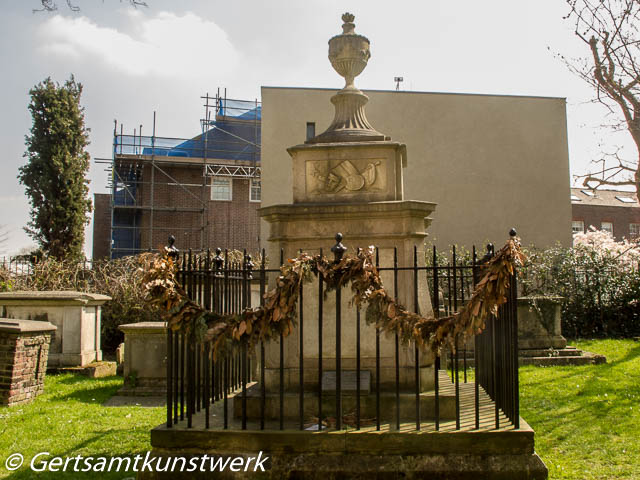 Hogarth's grave