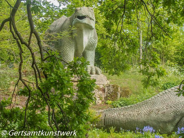 Woodland dinosaur