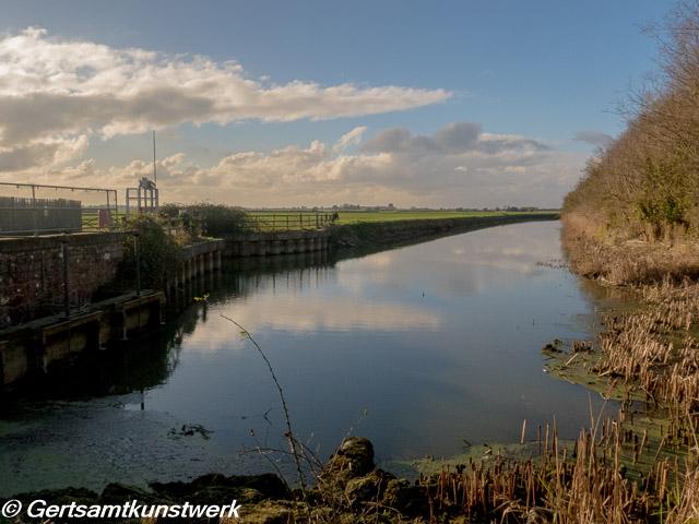 West Hythe Weir