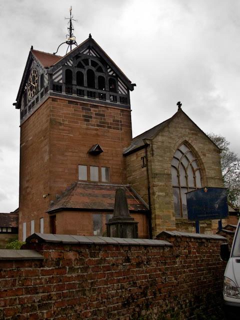 St Martin's church tower