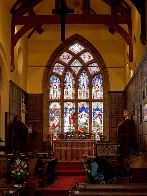 St Martin's stained glass