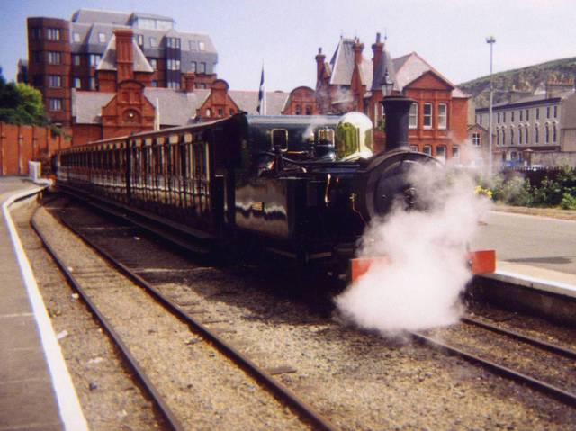 Train to Douglas