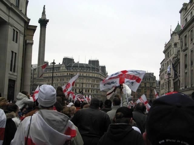 Trafalgar Square or bust