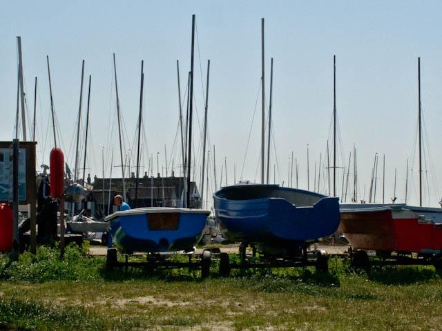 Boats on wheels