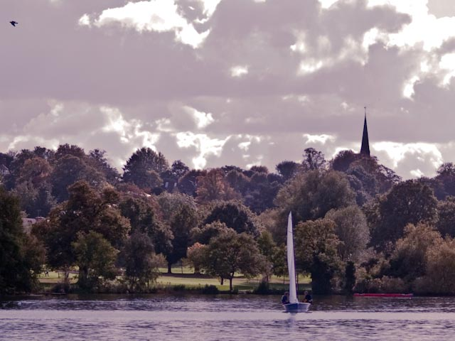 Dinghy and Church