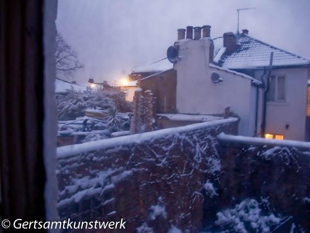 Neighbourhood snow